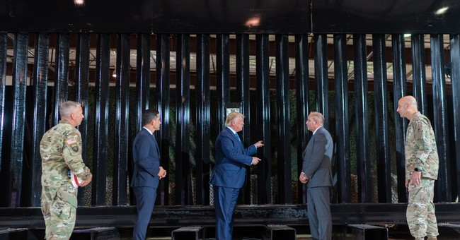 Trump's Real Legacy Is 450 Miles of Border Wall