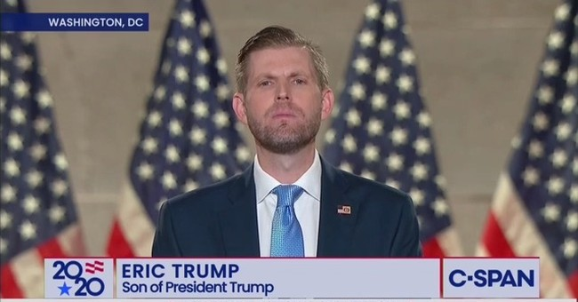 Eric Trump Stands Up for the 'Silent Majority' and Shreds Dems' Plans to Erase America as We Know It