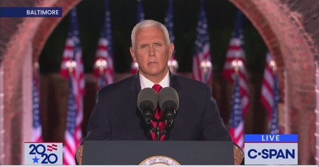 WATCH: Vice President Pence Explains Why Americans Must Choose the Trump Administration Come November