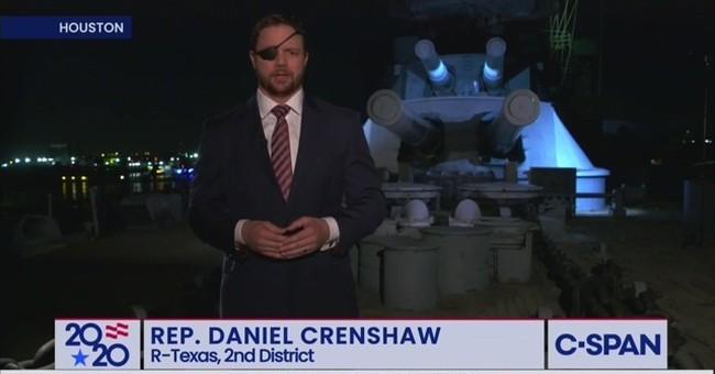 Dan Crenshaw Defines the Heroism of Everyday Americans In Emotional RNC Speech