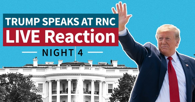 WATCH LIVE: Townhall Media Commentary of Night 4 of the 2020 RNC