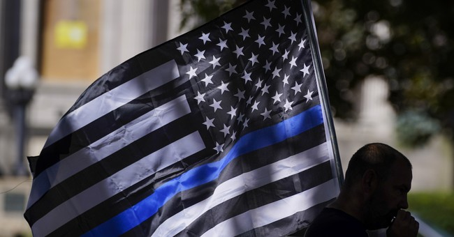 'Are You Kidding Me?': PolitiFact's Rating About the Thin Blue Line Flag Raises Eyebrows