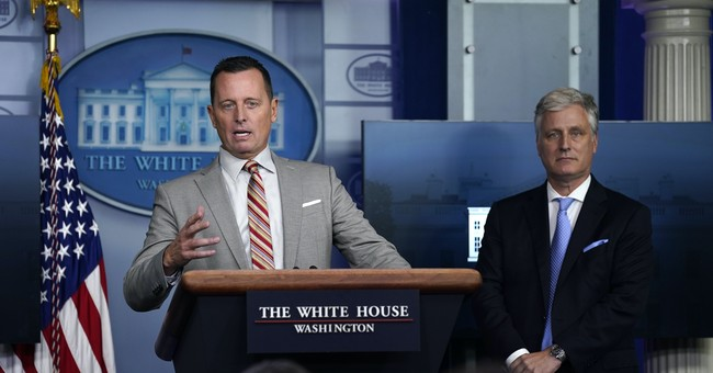 'People Aren't Listening to You': Ric Grenell Rips into the Press Over Their Clown Show Antics at WH Briefing