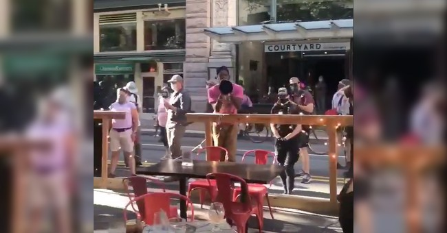 BLM Protesters Charged With Harassment and Theft in Viral Encounter at PA Restaurant