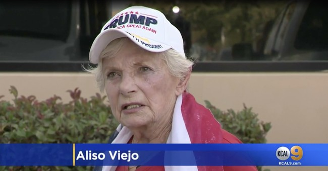 Man Attacks Group of Trump Supporters, Punches Elderly Woman in the Face