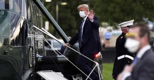 WATCH: President Trump Leaves Walter Reed