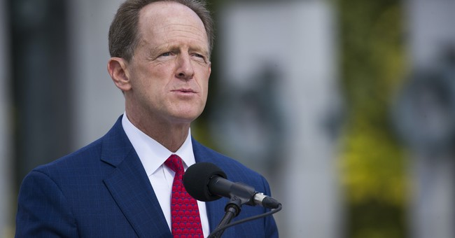 Facepalm: Sen. Toomey Calls for Legislation He Admits Is Already on the Books