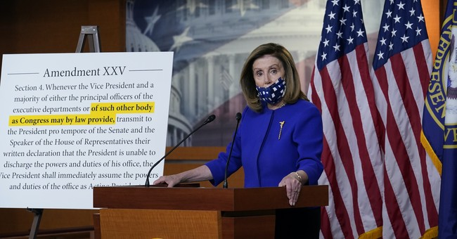 Speaker Pelosi Introduces Legislation Creating Commission on President's 'Physical and Mental Capacity'