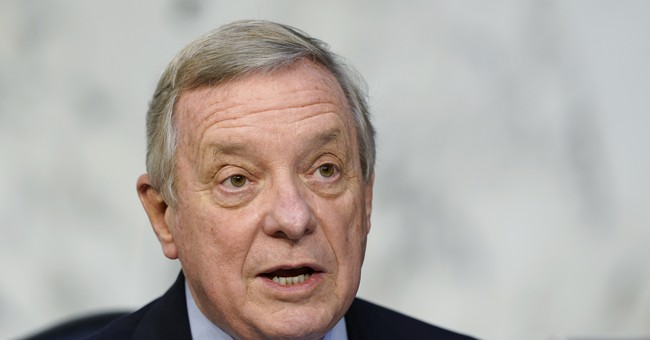 Dick Durbin Tells Barrett that She's 'Making History.' He Didn't Mean it in a Flattering Way.