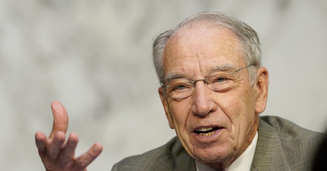 Sen. Chuck Grassley Tests Positive for the Wuhan Coronavirus