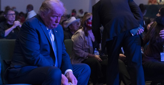 What Trump Did During Church Appears to Have Some Outlets Thinking It's an Actual Story. It's Not.