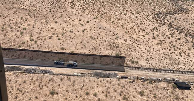 The Jaw-Dropping Difference Between the Old 'Wall' and the New Wall the Trump Admin Is Building