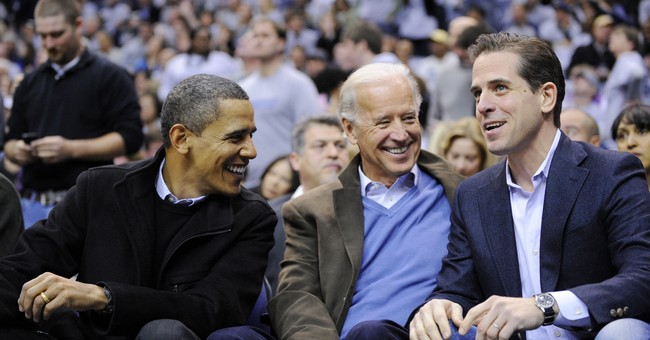 Newly-Released Text Messages Reveal Hunter Biden's Motive for Creating a Shell Company