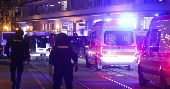 'Repulsive Terror Attack' Strikes Vienna, Leaving One Dead and At Least 15 Wounded