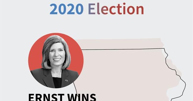 Sen. Joni Ernst Survives Tough Re-election Battle in Iowa