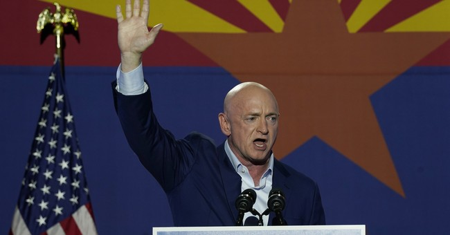 Mark Kelly Sworn In, Media Overhypes The Significance