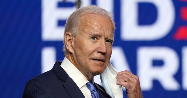 In Speech to Nation, Biden Insists 'We're Going to Win This Race'