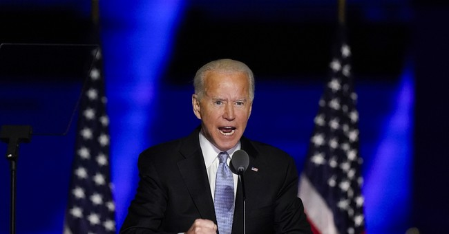 Joe Biden Says He Wants a 'Revolution'