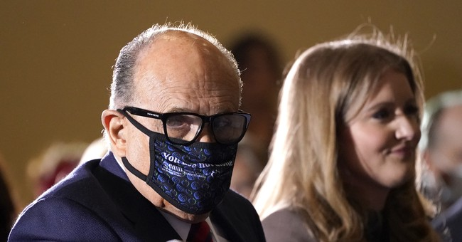 Trump Gives an Update on Giuliani's Health