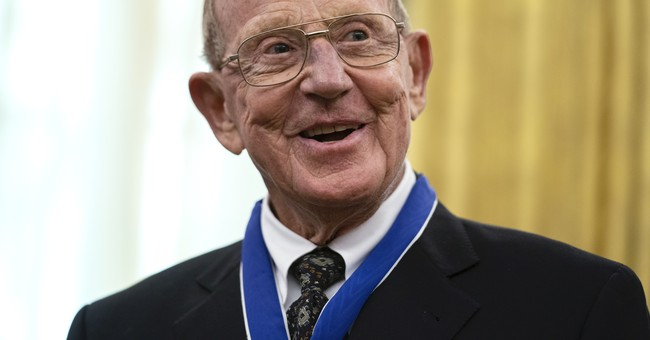 Beloved Coach Lou Holtz Receives the Medal of Freedom