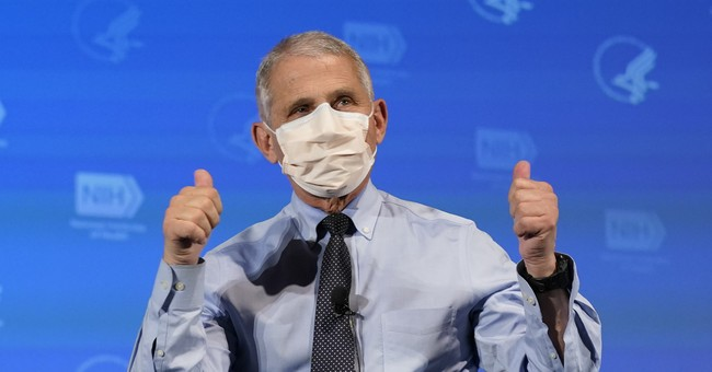 Fauci Makes Another Comment About Masks That Is Not Encouraging