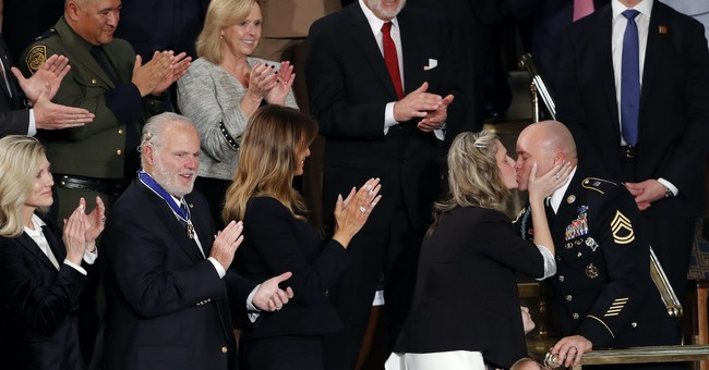 Trump Surprises Military Family at the SOTU By Reuniting Them with Their Soldier