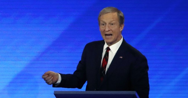 This Is Who Tom Steyer Says Won the Las Vegas Debate...And They Weren't on the Stage