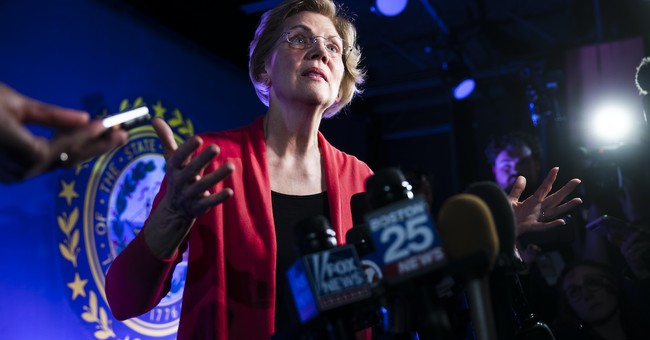 Trump on Standby to Taunt Liz Warren After Her Brutal Third Place Finish in Massachusetts Primary