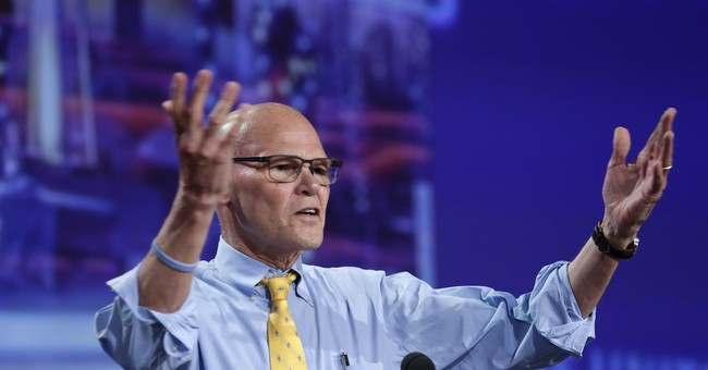 Clinton Guru James Carville Blows Up on the Democratic Party: It's Leaving Relevance and Becoming an 'Ideological Cult'
