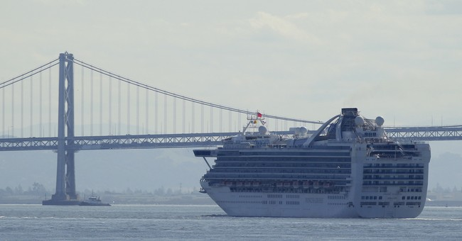 CDC Study Shows Wuhan Coronavirus Lived on Cruise Ship Surfaces a Disturbingly Long Time After Passengers Were Gone