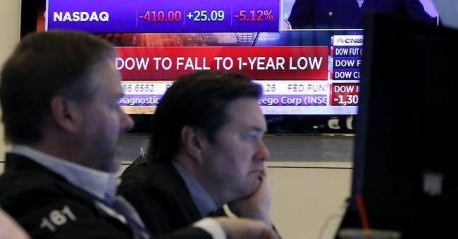 Market Got Its Excuse To Crash
