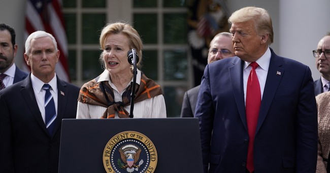 A Coordinated Effort Is in Play With the Press to Discredit Dr. Deborah Birx for Complimenting President Trump