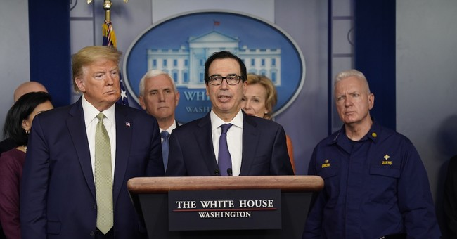 Secretary Mnuchin Gives Promising News Amid Skyrocketing Unemployment Numbers Due to COVID-19