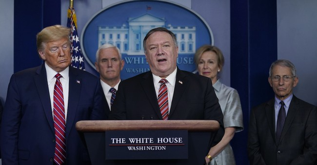 Mike Pompeo Isn't Backing Down on Naming the Virus; Chicom Feelings Hurt