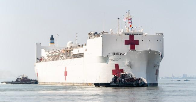 """Whoops: Coronavirus Patients Mistakenly Taken to """"Comfort"""" Hospital Ship"""