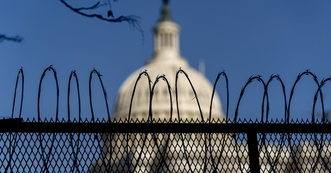 Shocker: Authorities Say the Capitol Fencing Shouldn't Come Down Just Yet
