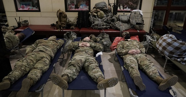Guardsmen Feeling Betrayed and Used After Getting Kicked Out of the Capitol