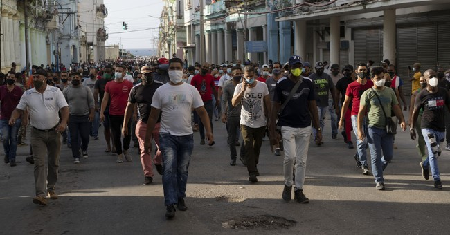 The Cuban Freedom Protest Is Awkward for Our Garbage Elite
