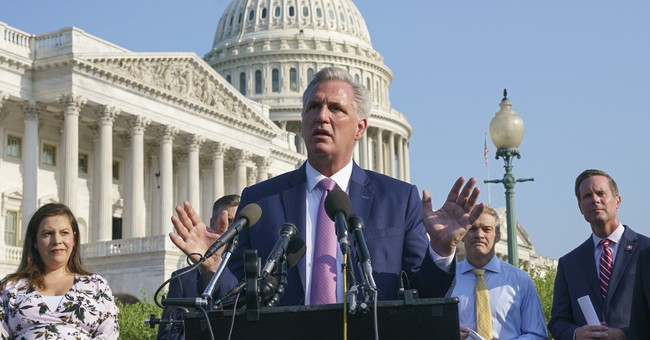McCarthy Asks Biden for Meeting on 'Alarming' Border Numbers and Dems' Amnesty Push
