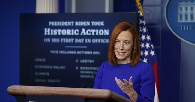 Psaki Clears Up 'Unintentional Ripple' She Caused Over Biden's Plans for the FBI Director