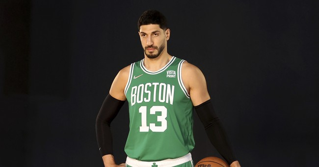 Enes Kanter Roasts ChiComs with New Shoe That's Sure to Anger the Woke NBA