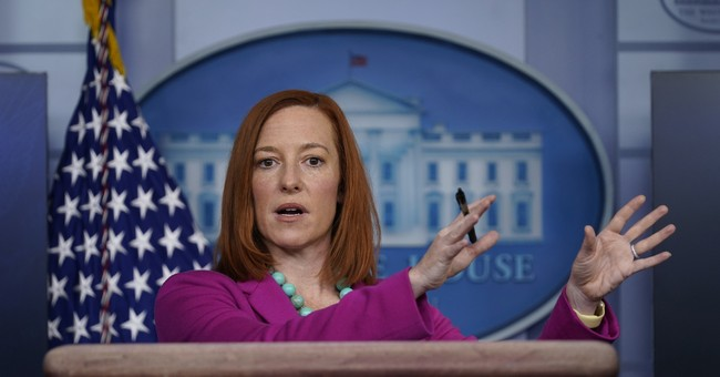 Despite Successful Vaccine Rollout, Jen Psaki Threatens 'Months and Months' of 'Sacrifice' and 'Suffering'