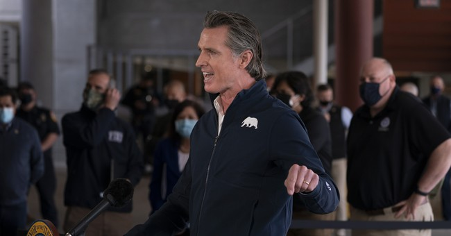 Gavin Newsom Tells Californians They're 'Not Going Back to Normal'
