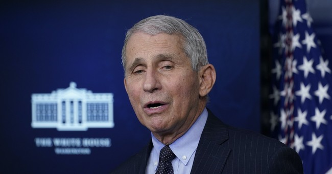 Now, It's Time to Stop Listening to Fauci...Even Liberals Are Calling Him Out