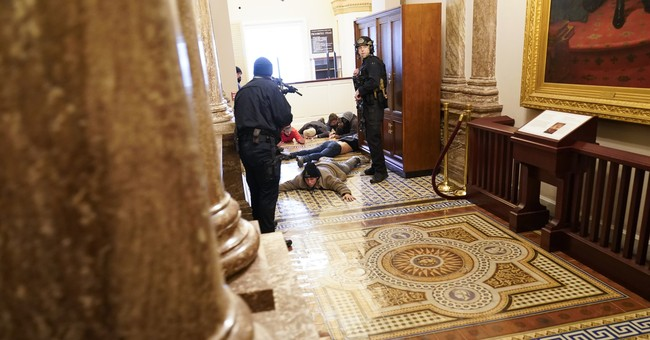 New Footage Yields More Questions Regarding the Woman Shot And Killed Inside the Capitol Building