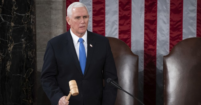 BREAKING: Pence Has Announced His Decision on Whether to Certify Electoral College Votes