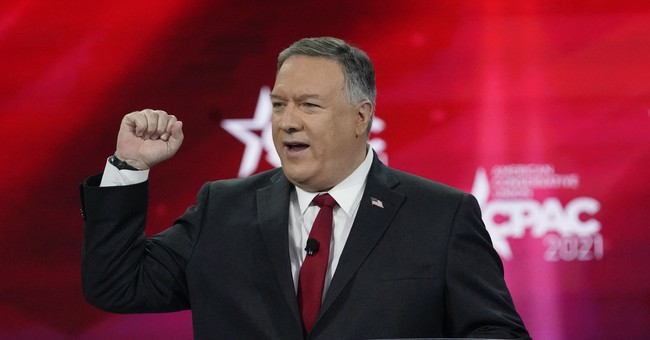 Be Glad About Pompeo's Doomed Primary Challenge To Trump