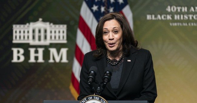 <p>Kamala Harris Goes Full Cringe in COVID Presser, Personifies Being Out of Touch thumbnail