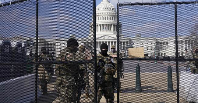 Sorry, DC Residents, Here's What Happened with the Fencing Around the Capitol