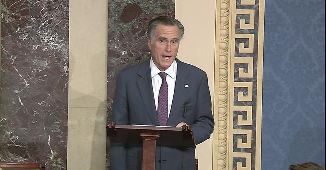 Mitt Romney's Mind-Numbingly Stupid Take on Trump's Pardons